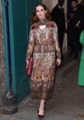 Zoey Deutch attends Valentino Show, spring summer 2018 during Paris Fashion Week, France