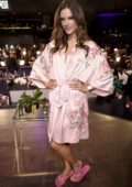 Alessandra Ambrosio at backstage of Victoria's Secret fashion show in Shanghai, China
