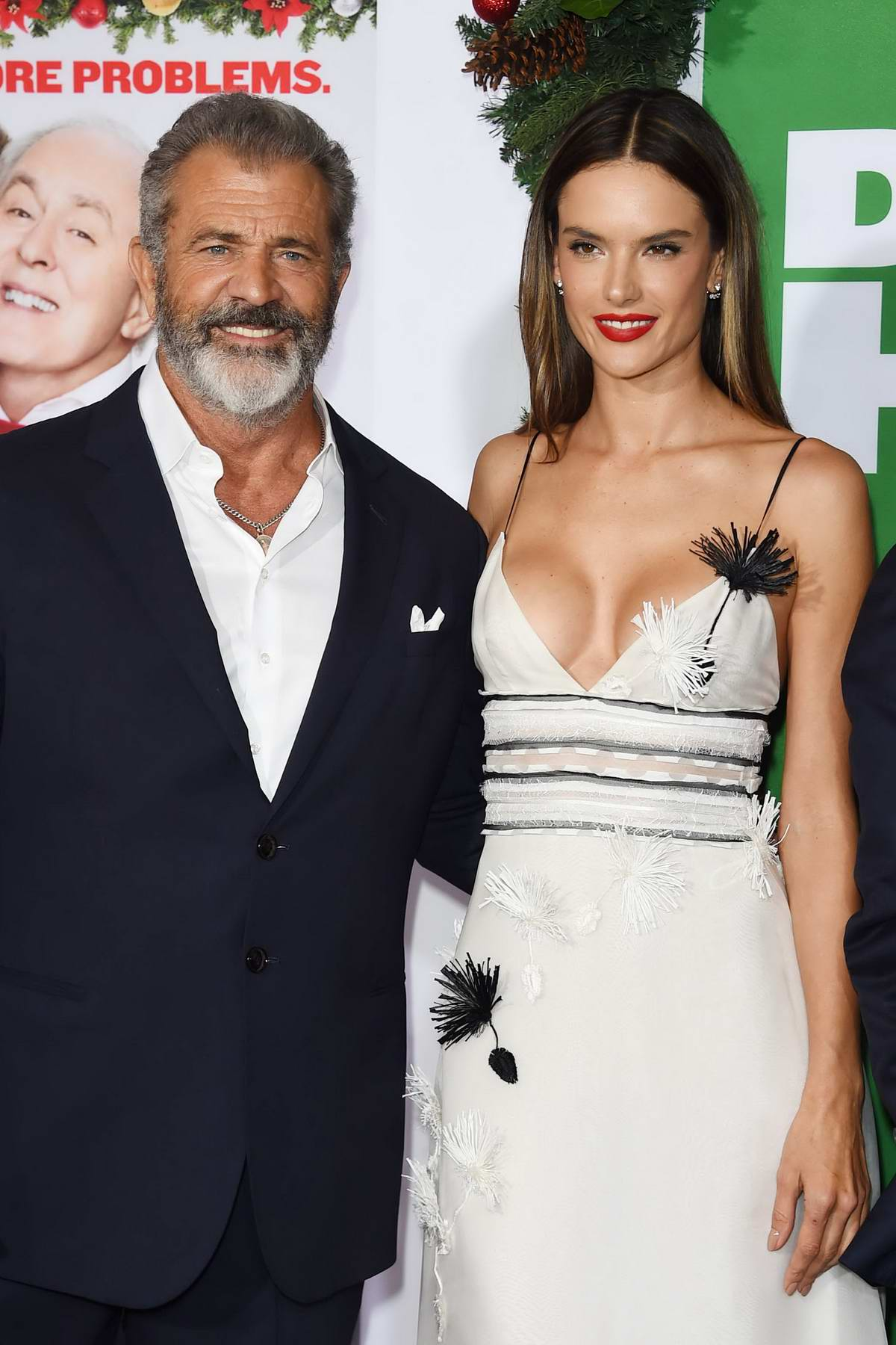 Alessandra Ambrosio at the Los Angeles premiere of Daddy's Home 2 in Westwood, Los Angeles