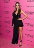 Alessandra Ambrosio at the Victoria's Secret fashion show, pink carpet and after party at Expo Center in Shanghai, China