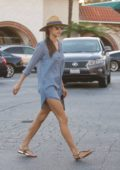 Alessandra Ambrosio out and about after spending some time with her sister in Brentwood, Los Angeles