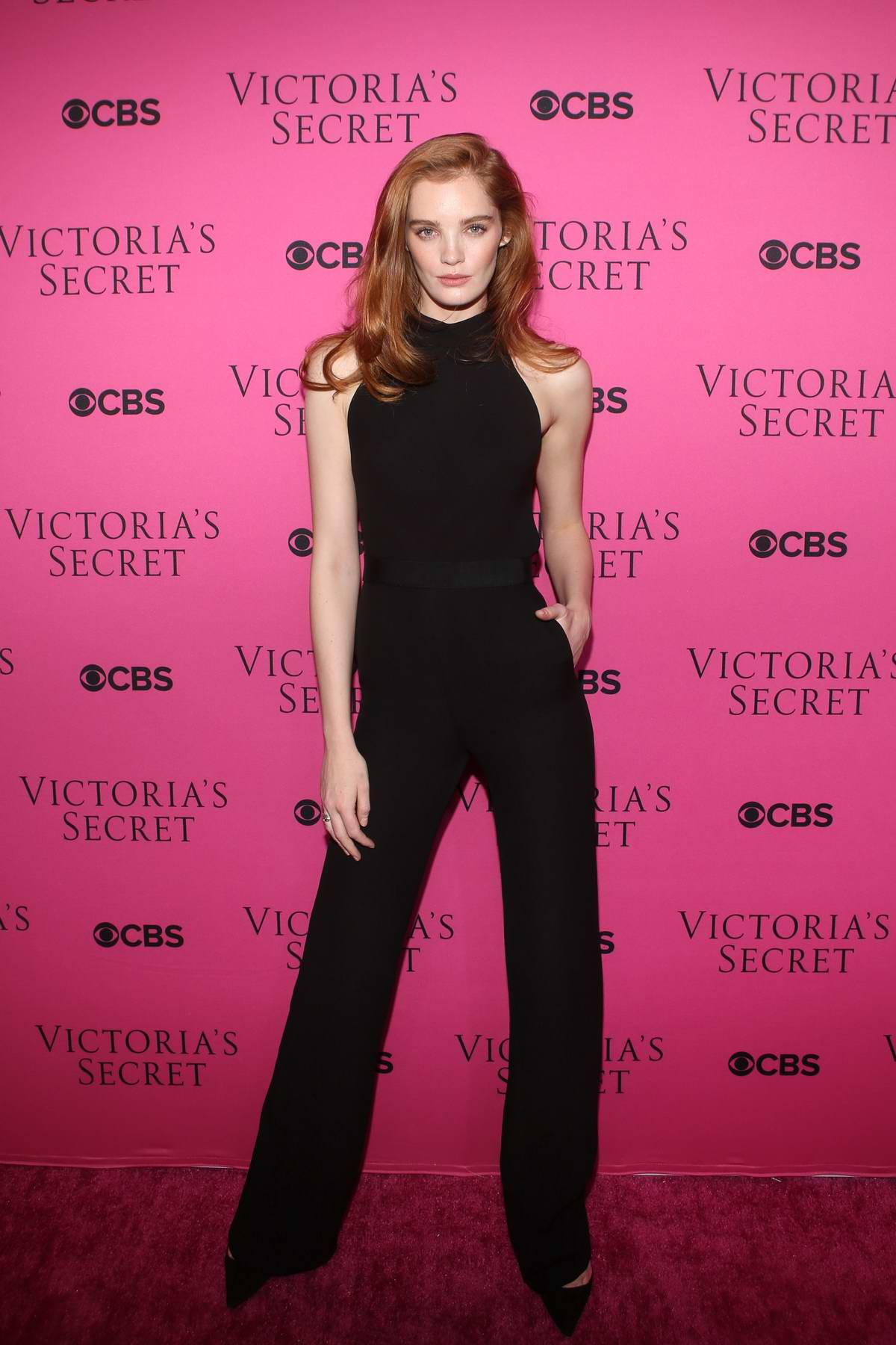 Alexina Graham at the Victoria's Secret Fashion Show viewing party in New York