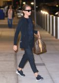 Alicia Vikander touches down at JFK Airport in New York