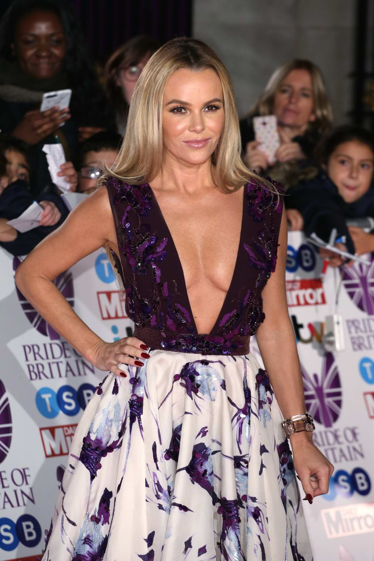 Amanda Holden at the Pride of Britain Awards held at the Grosvenor House in London
