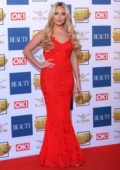 Amber Turner at the Beauty Awards with OK! in London