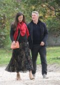 Ana Ivanovic and husband Bastian Schweinsteiger on Vacation in Rome, Italy