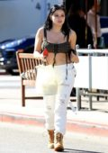 Ariel Winter grabs lunch from Il Pastaio in Beverly Hills, Los Angeles