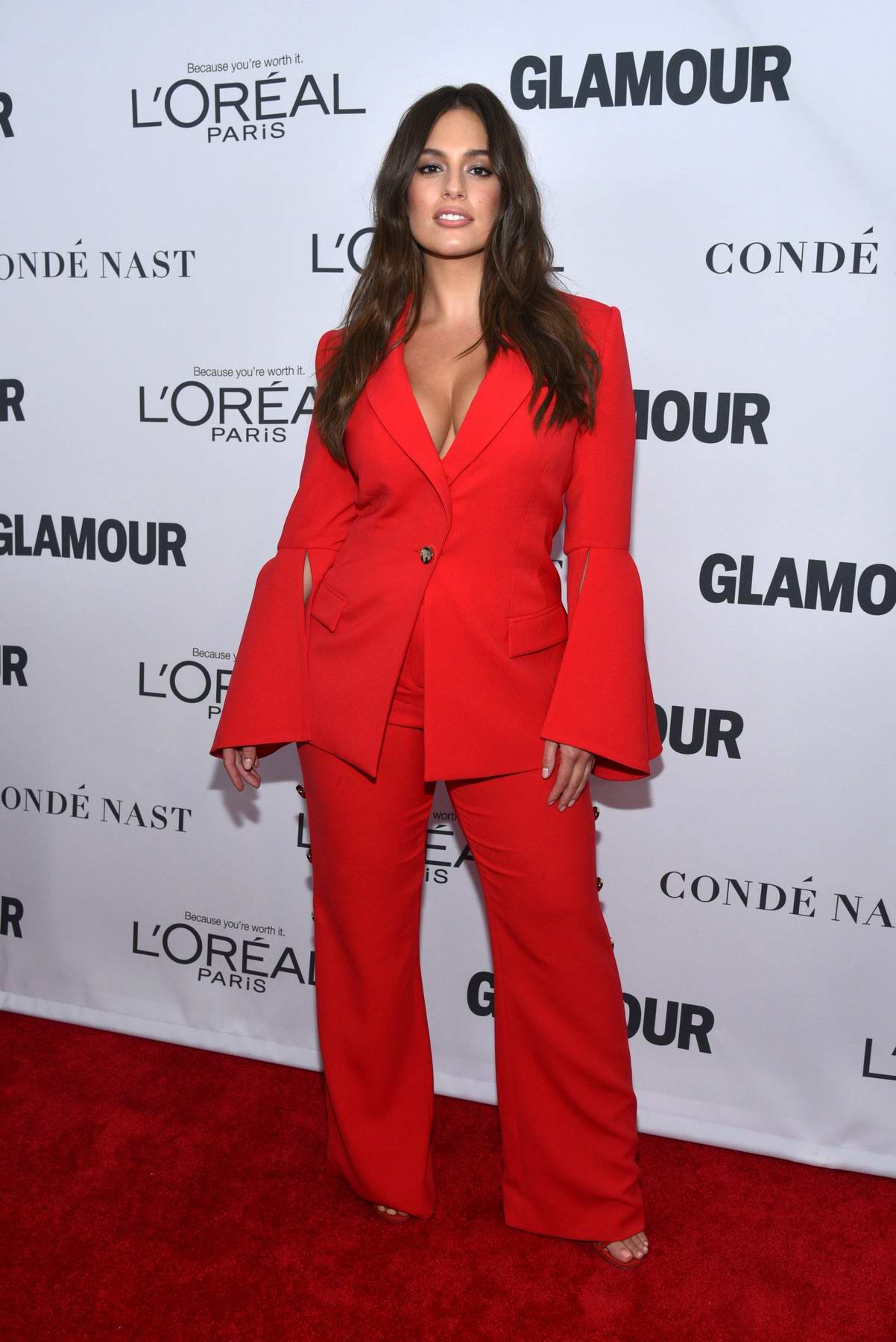 Ashley Graham at the Glamour Women Of The Year Awards in New York