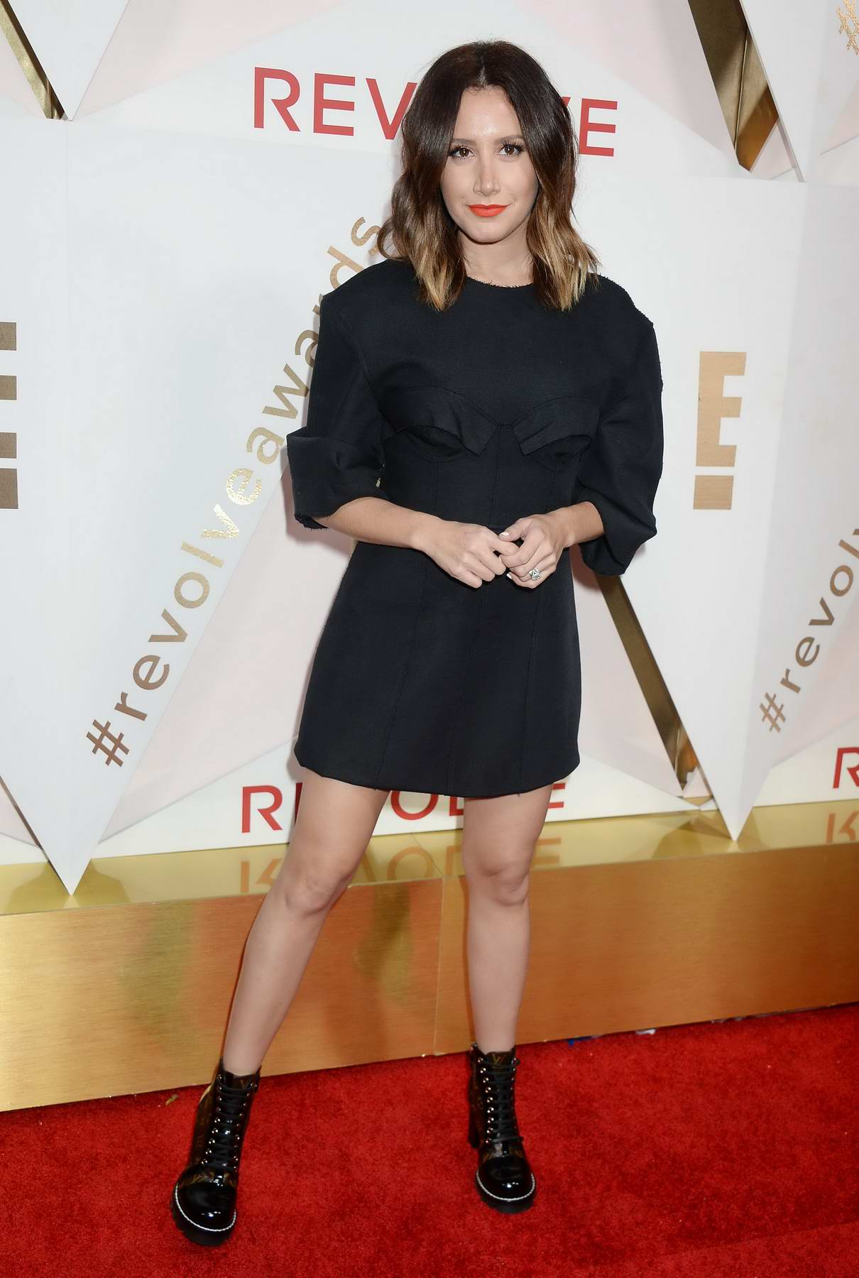Ashley Tisdale attends the REVOLVE Awards in Hollywood, Los Angeles