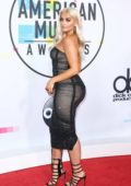 Bebe Rexha at the American Music Awards 2017 held at the Microsoft Theater in Los Angeles