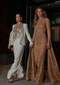 Bella Hadid and Gigi Hadid heads to Glamour Women of the Year event in New York City