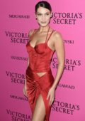 Bella Hadid at the Victoria's Secret fashion show, pink carpet and after party at Expo Center in Shanghai, China