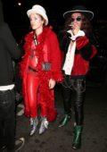 Bella Thorne celebrates boyfriend Modsun's birthday with sister Dani in Studio City, Los Angeles