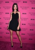 Blanca Padilla at the Victoria's Secret Fashion Show viewing party in New York