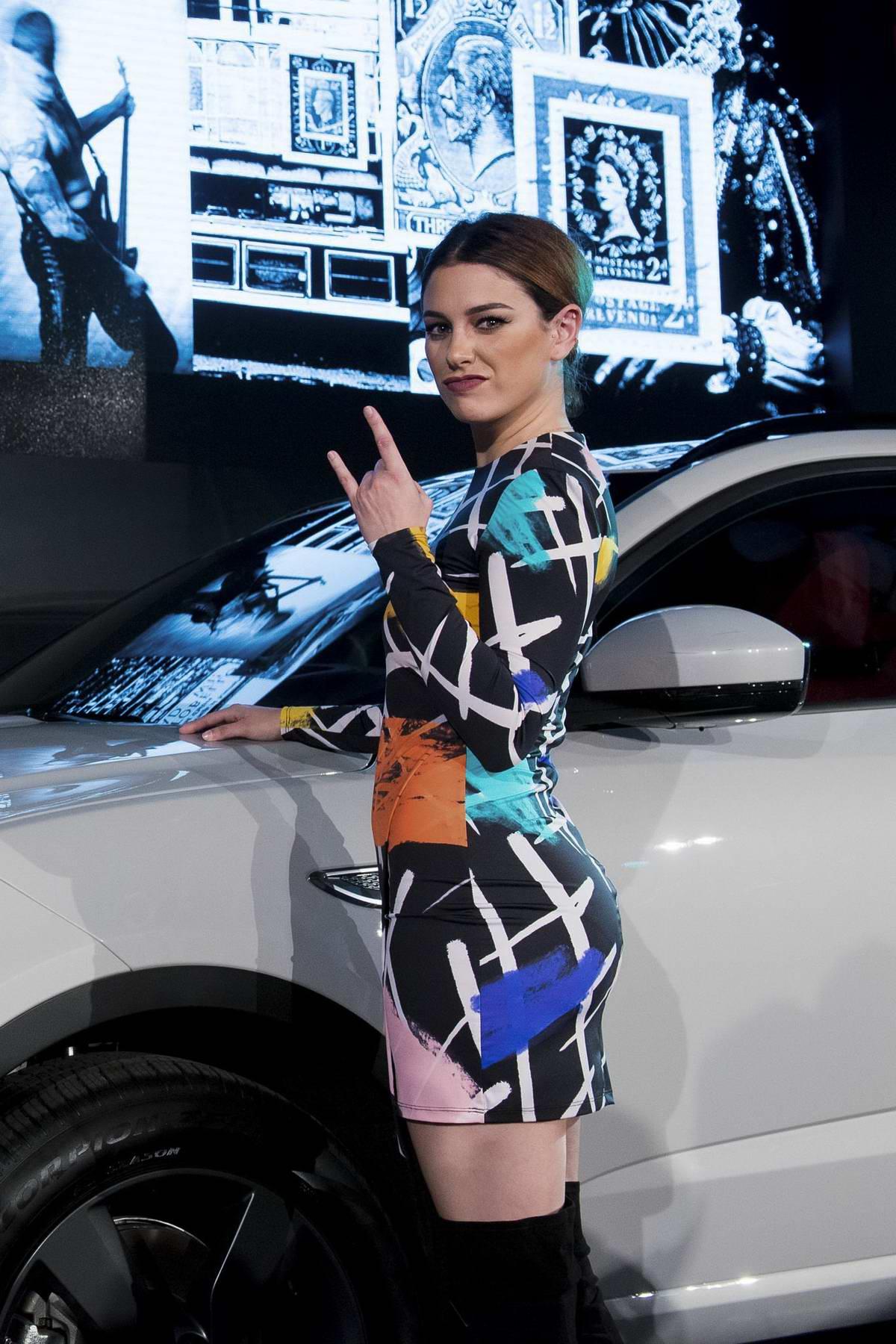 Blanca Suarez presents the new Jaguar E-pace in Madrid, Spain