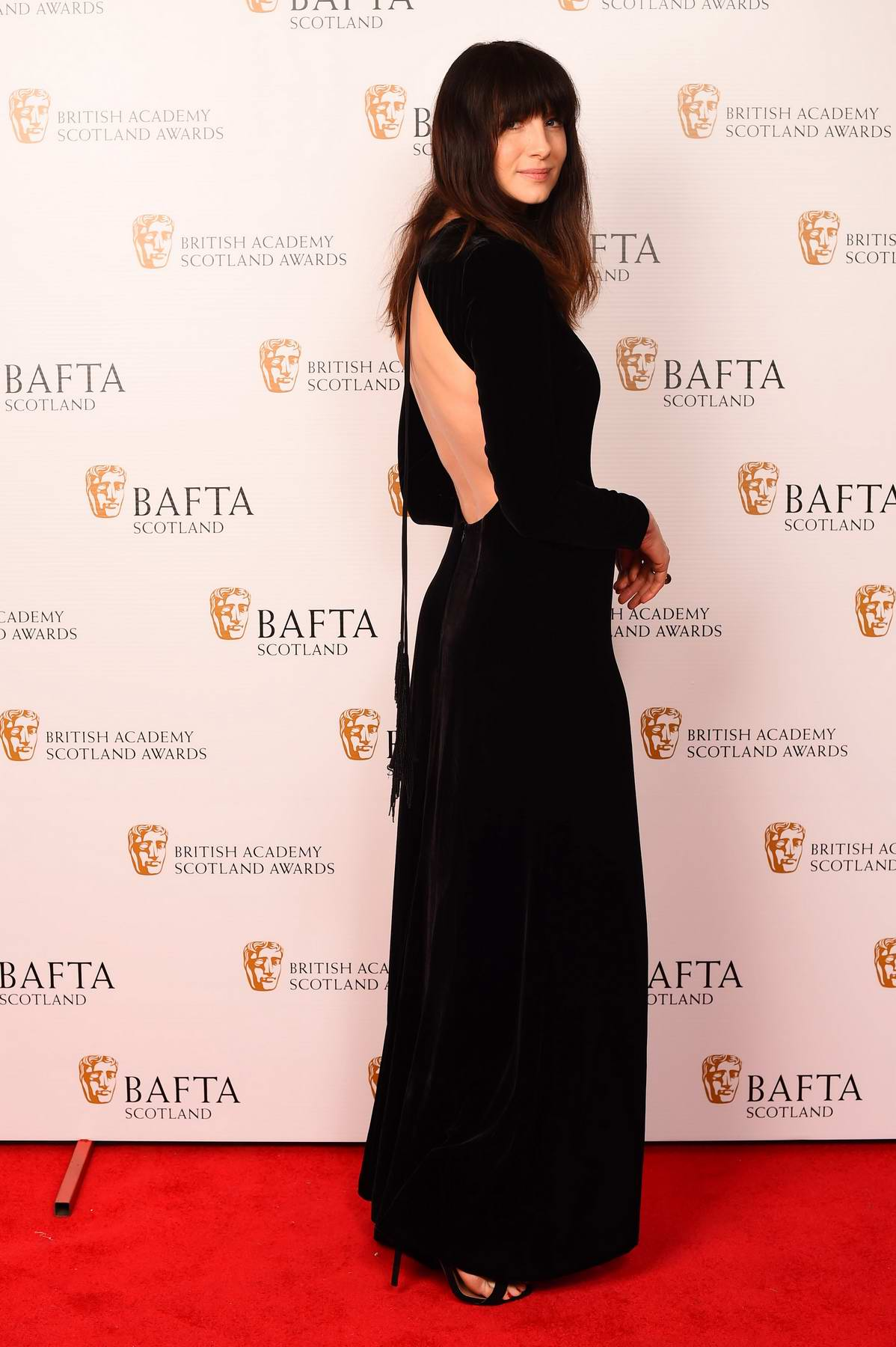 Caitriona Balfe at the British Academy Scotland Awards in Glasgow, Scotland