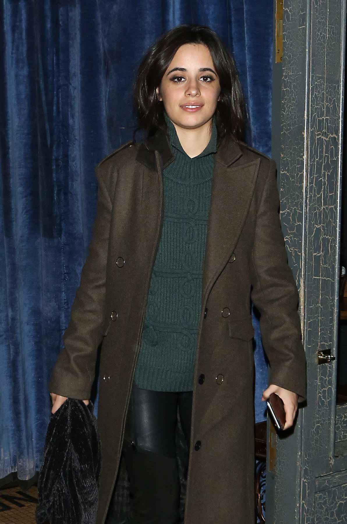 Camila Cabello leaves Balans SoHo Society restaurant at 2 AM after MTV EMA's in London