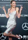 Candice Swanepoel at Mercedes-Benz 'Backstage Secrets' by Russell James' book launch and Shanghai exhibition opening party in Shanghai, China