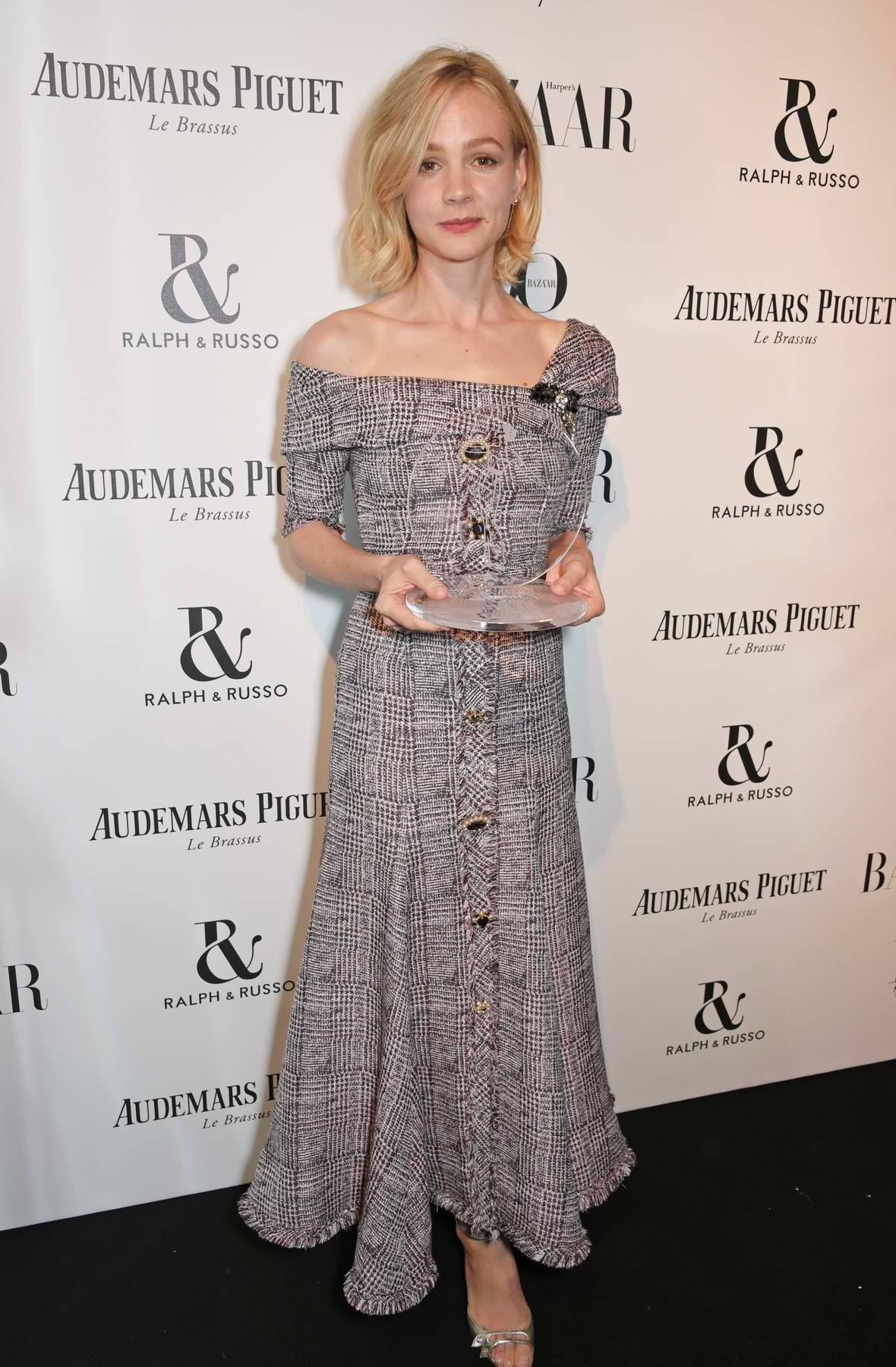 Carey Mulligan at the Harper's Bazaar Women of the Year Awards in London