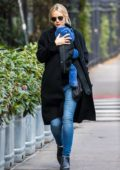 Carey Mulligan spotted taking a stroll with her baby in East Village, New York City