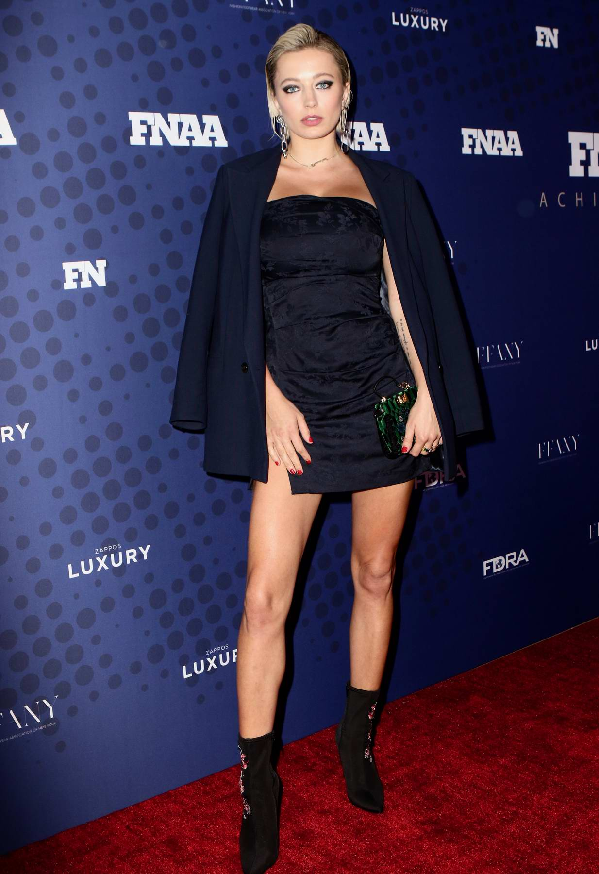 Caroline Vreeland at the 31st Annual Footwear News Achievement Awards in New York