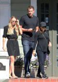 Caroline Wozniacki and David Lee spotted with Eva Longoria in New Orleans