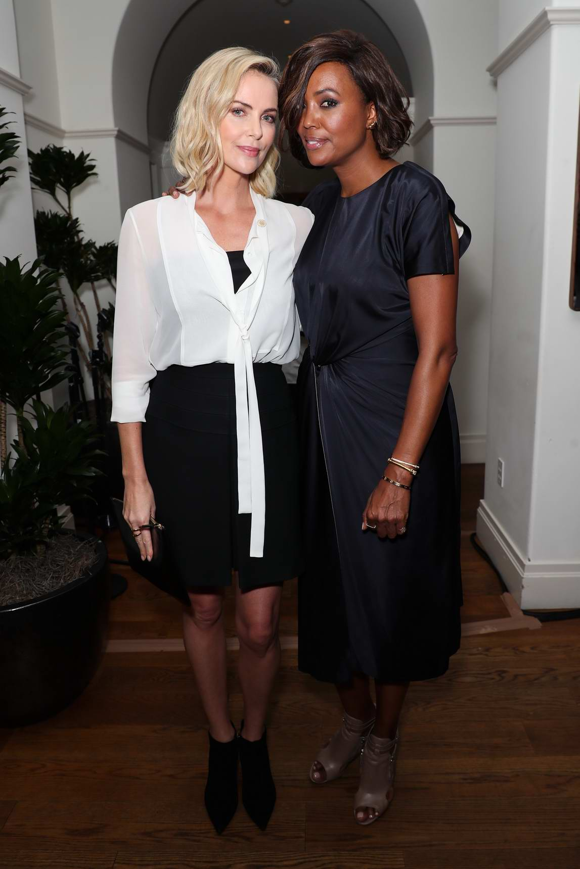 Charlize Theron at the CTAOP 10th anniversary at Georgie at Montage Beverly Hills, Los Angeles