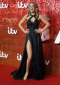 Charlotte Hawkins at the ITV gala in London