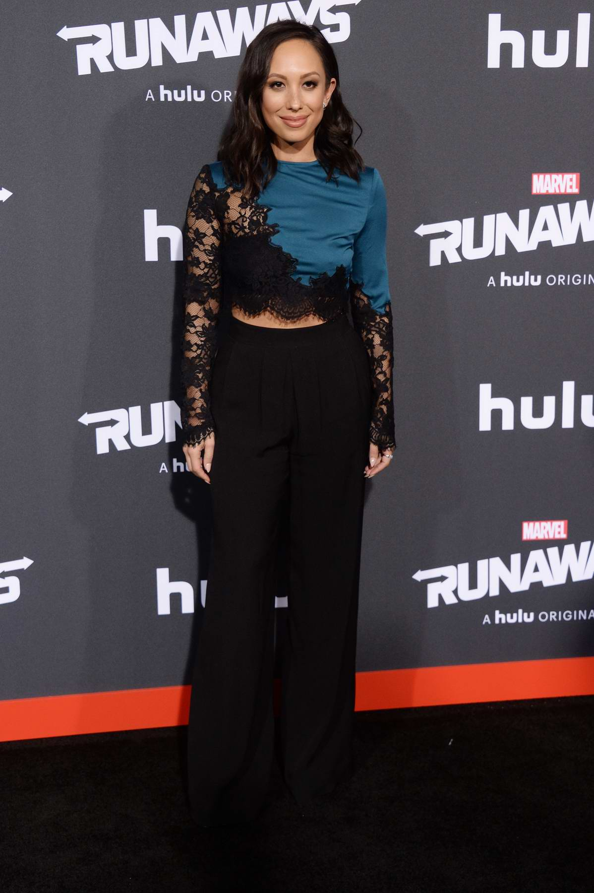 Cheryl Burke at the premiere of 'Runaways' in Los Angeles
