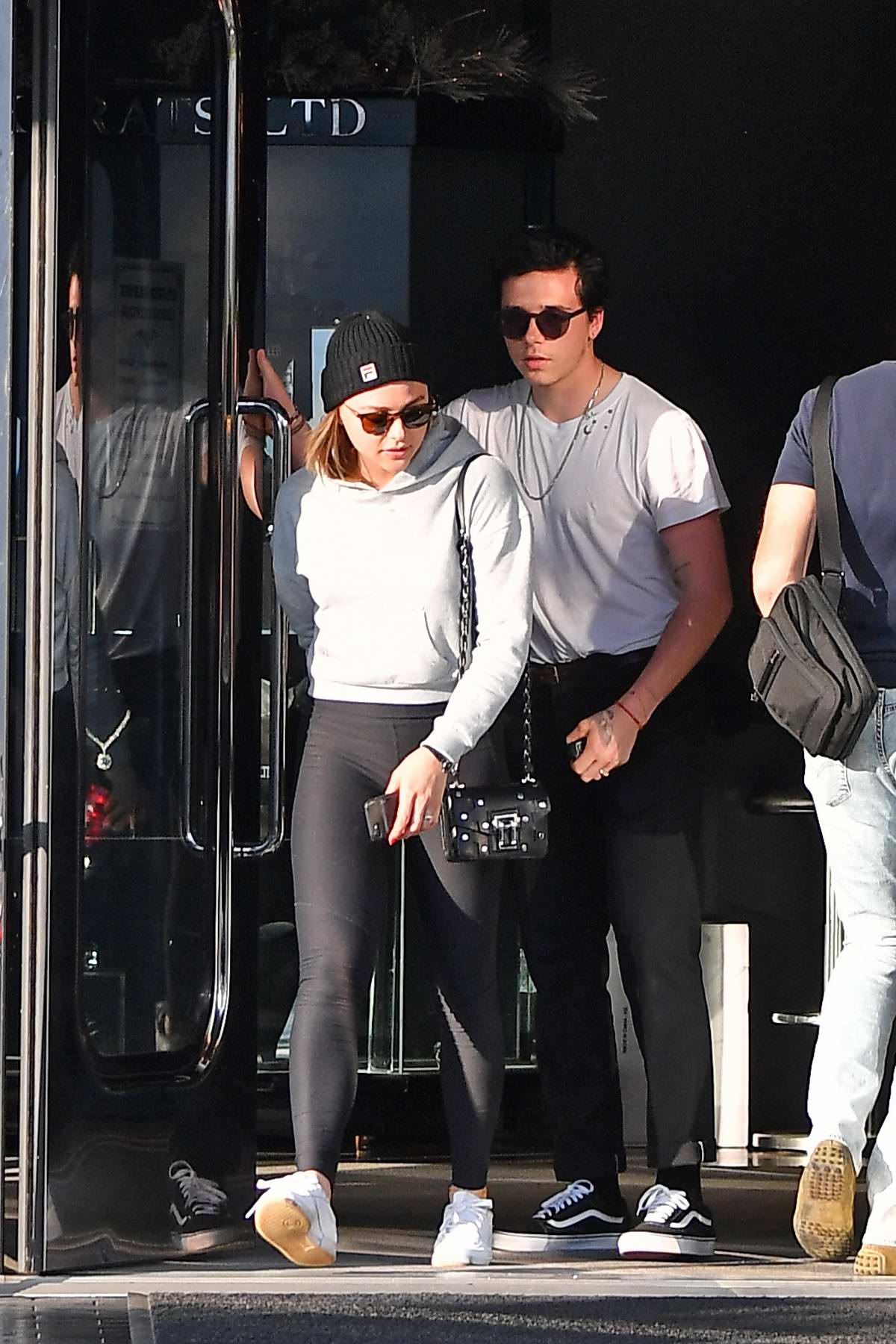 Chloe Grace Moretz and Brooklyn Beckham leave XIV Karats jewelry store in Beverly Hills, Los Angeles