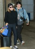 Chloe Grace Moretz and Brooklyn Beckham touch down at JFK airport in New York City