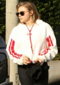 Chloe Grace Moretz runs errands in her workout attire in Los Angeles