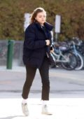 Chloe Grace Moretz spotted out for some breakfast in Toronto, Canada