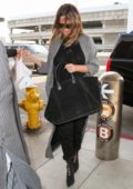 Chrissy Teigen arriving at LAX International Airport in Los Angeles