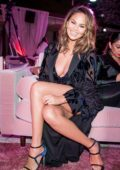 Chrissy Teigen at the REVOLVE Awards in Los Angeles