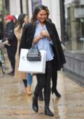 Chrissy Teigen out for shopping in SoHo, New York City
