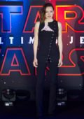 Daisy Ridley at 'Star Wars - The Last Jedi' film premiere in Mexico City, Mexico