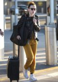 Daisy Ridley wears Star Wars liked outfit while touching down at JFK airport in New York after arriving from London