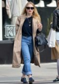 Dakota Fanning is spotted out on a stroll in New York City