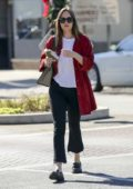 Dakota Johnson is seen with a Gucci purse whilst grabbing a juice in Los Angeles