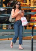 Dakota Johnson spotted while shopping on Melrose in West Hollywood, Los Angeles