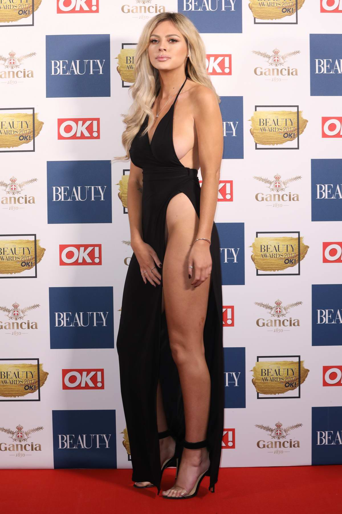 Danielle Sellers attends the OK Magazine Beauty Awards in London