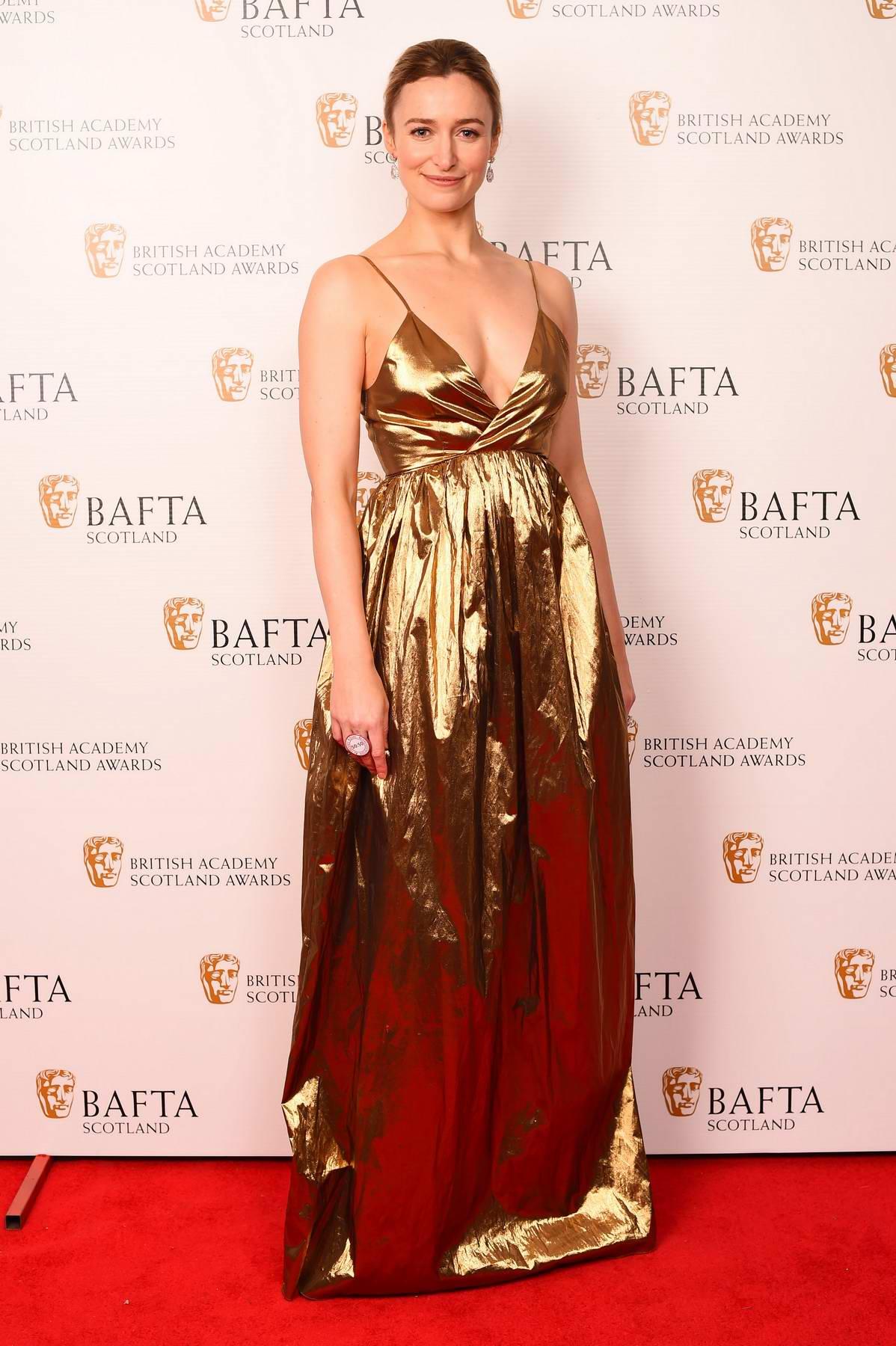 Deirdre Mullins at the British Academy Scotland Awards in Glasgow, Scotland