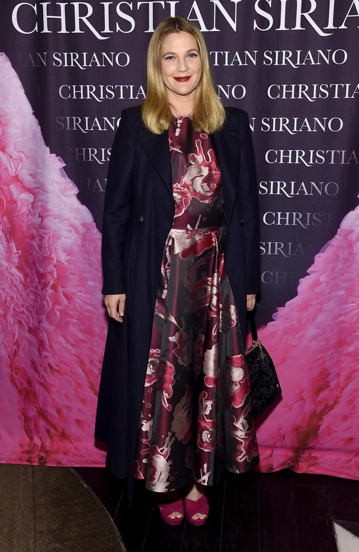 Drew Barrymore at the 'Dresses to Dream About' book release in New York City