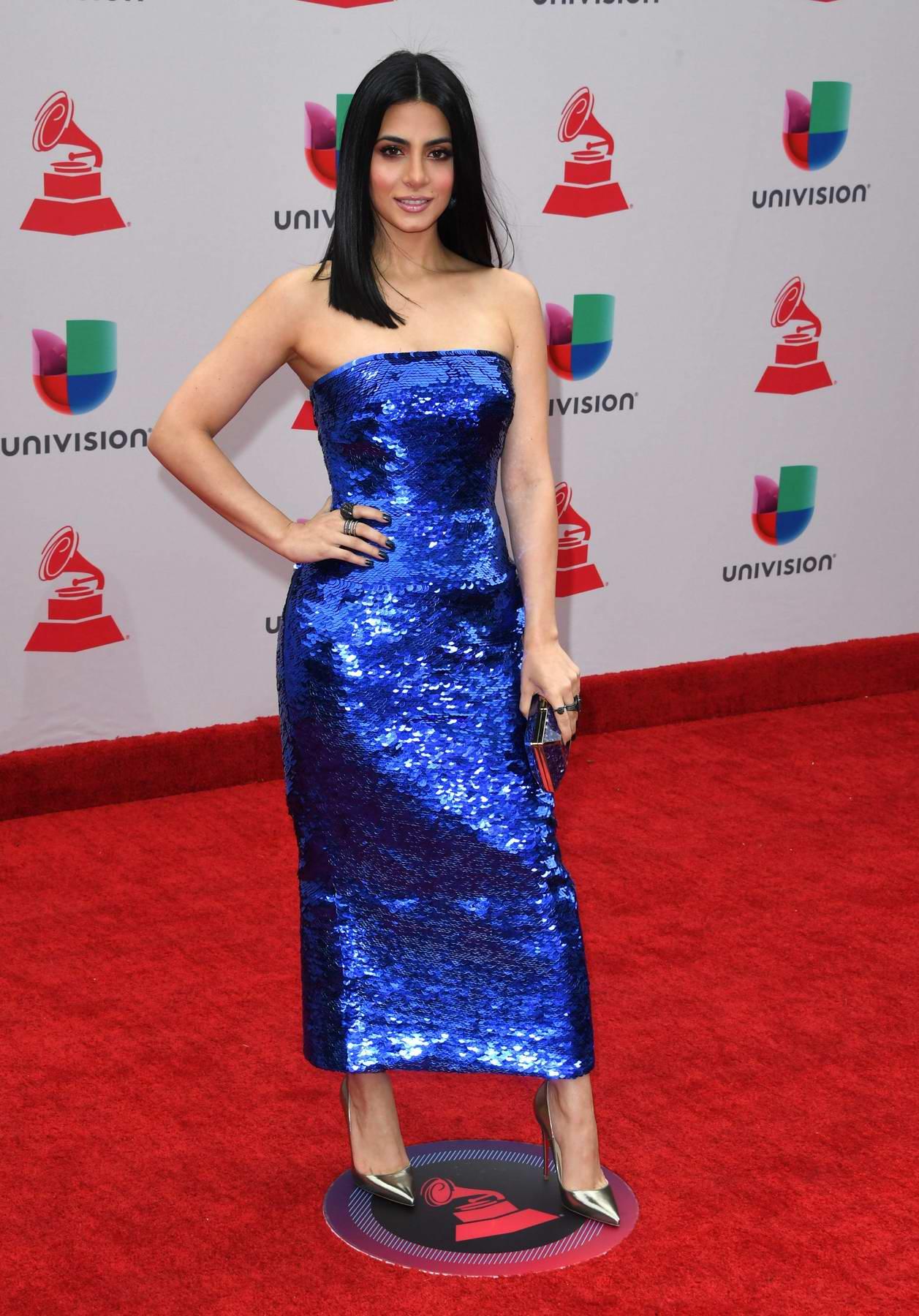 Emeraude Toubia at the 18th Annual Latin Grammy Awards in Las Vegas