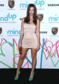 Emily Ratajkowski at 2017 The Hawn Foundation gala held at Ron Burkle's estate in Los Angeles