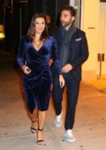 Eva Longoria and husband Jose Baston were spotted leaving dinner at Cipriani restaurant in New York City