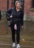 Gemma Atkinson leaving Key 103 radio station in Manchester, UK
