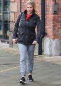 Gemma Atkinson spotted leaving Key 103 radio station in Manchester, UK