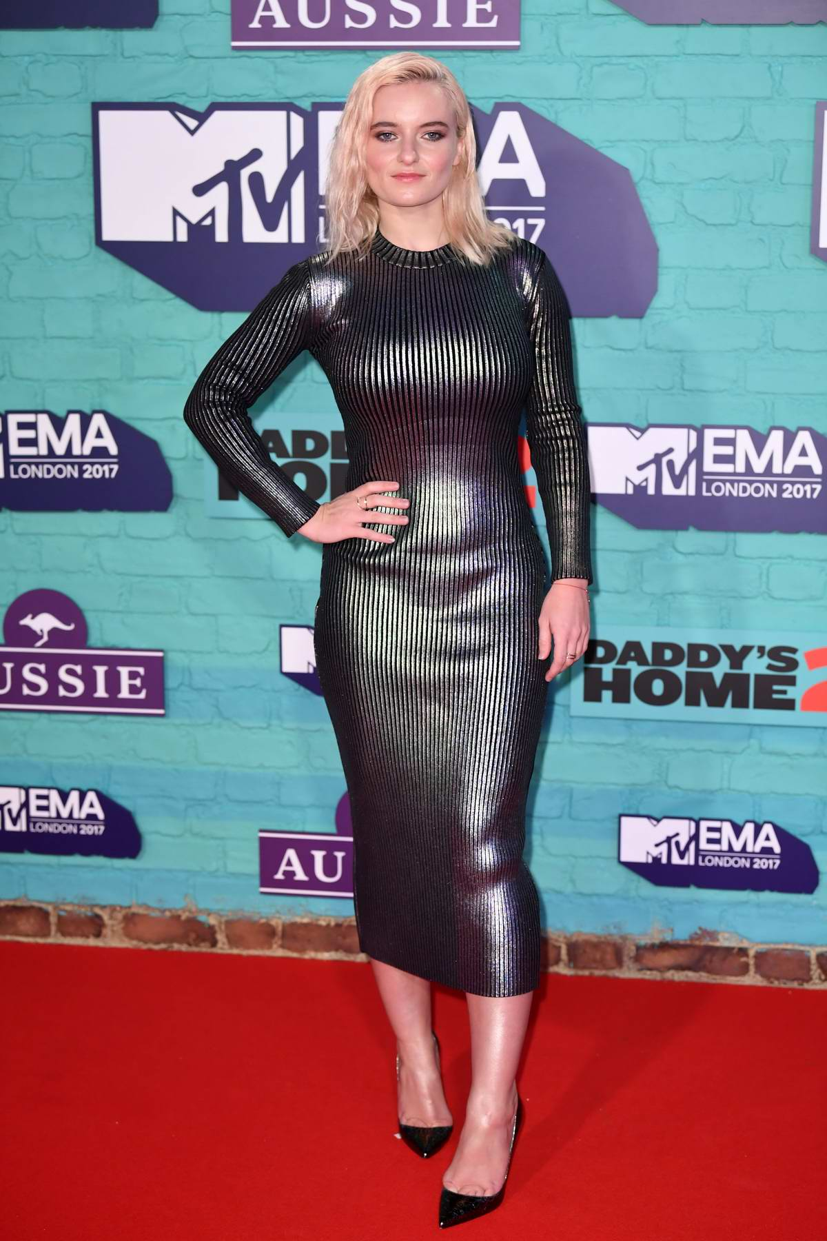 Grace Chatto at the 24th MTV Europe Music Awards held at SSE Arena Wembley in London